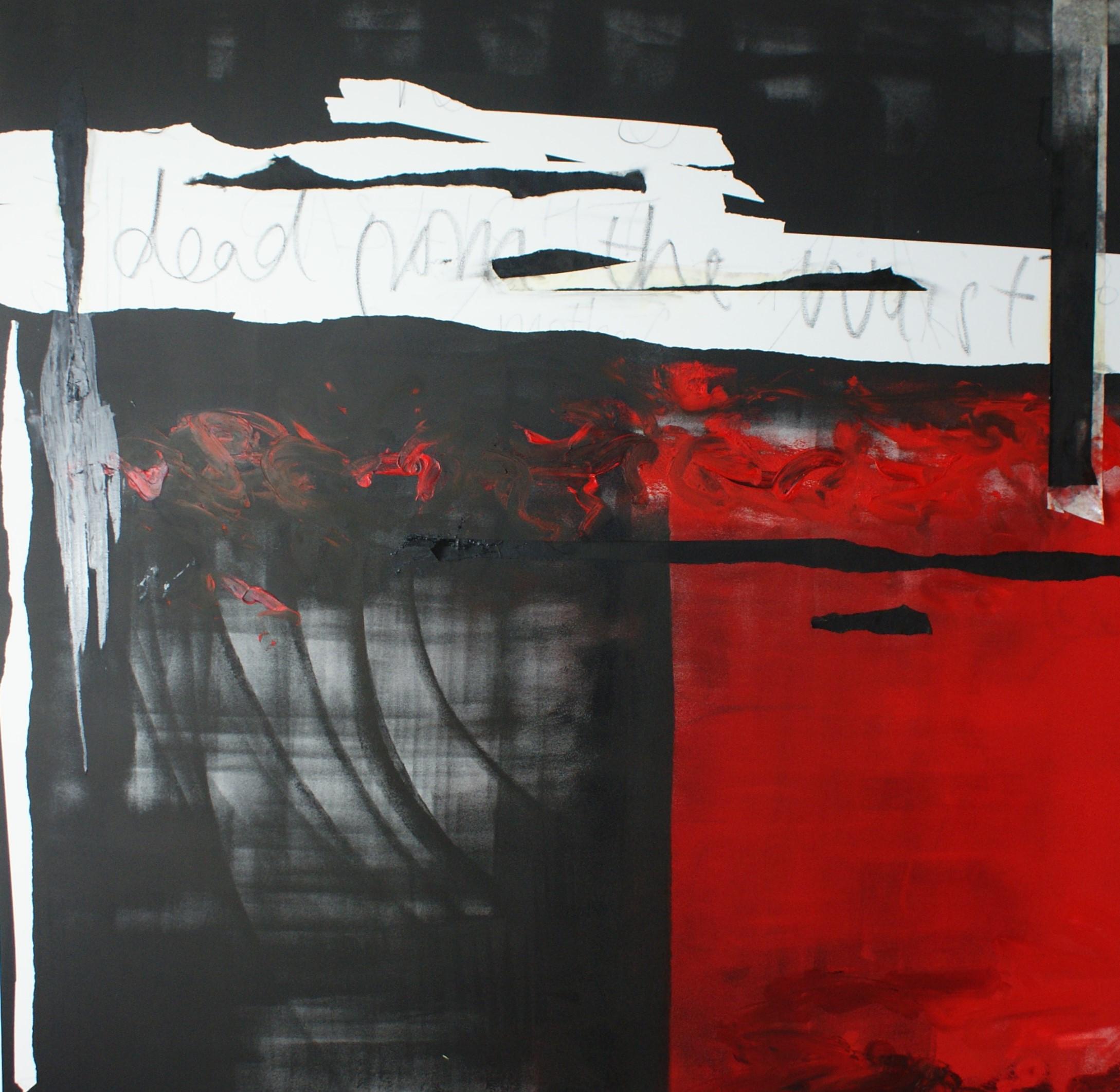 Dead from the waist down - (acrylic on canvas, 100x100cm) 2020