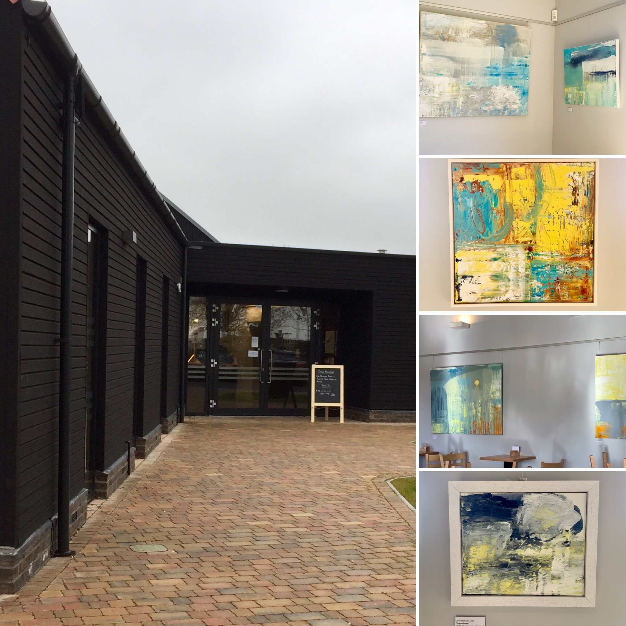 solo shows at Mersea Barns