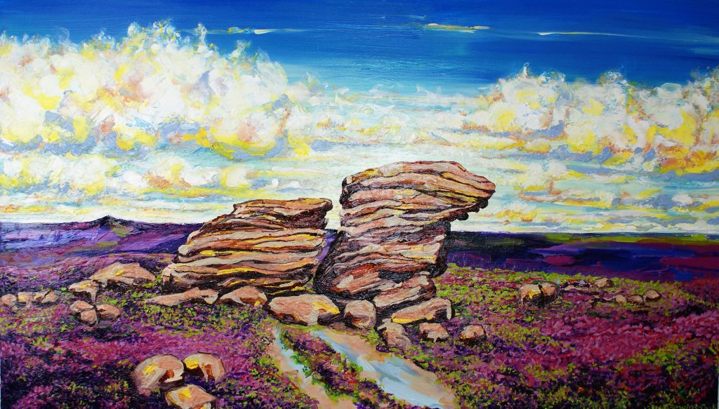 High Summer Ox Stones painting